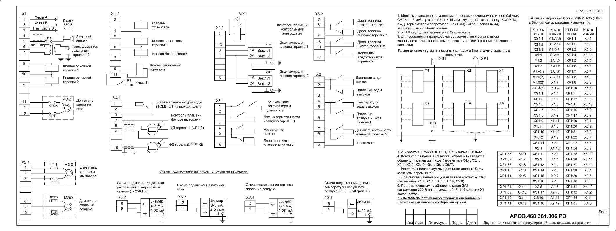 Схема ассинхронного двигателя